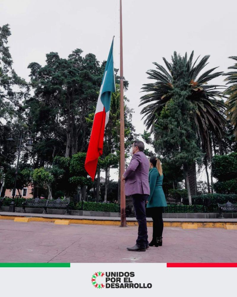 Gobierno Municipal conmemora el 174 Aniversario de la batalla en el Castillo de Chapultepec.
